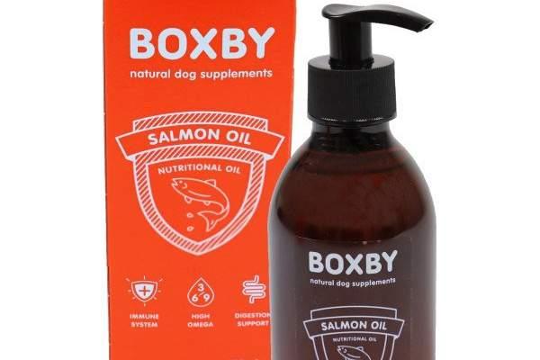 Boxby salmon oil - Tienda de animales La Gloria
