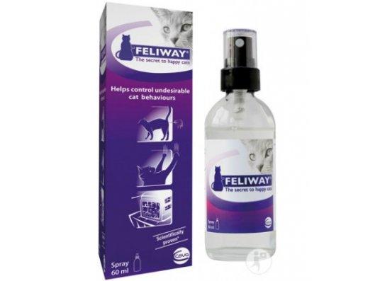 FELIWAY SPRAY (PARA COMPORTAMIENTOS INADECUADOS) - Tienda de animales La Gloria