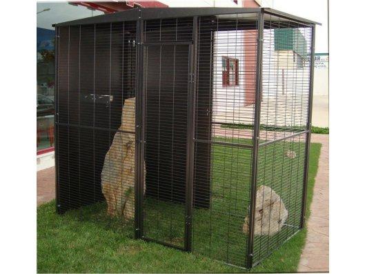 Jaula de loro 2x2 m - Tienda de animales La Gloria